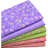 """iNee Fat Quarters Quilting Fabric Bundles, Cotton Fabric for Quilting Sewing,18""""x22"""""""