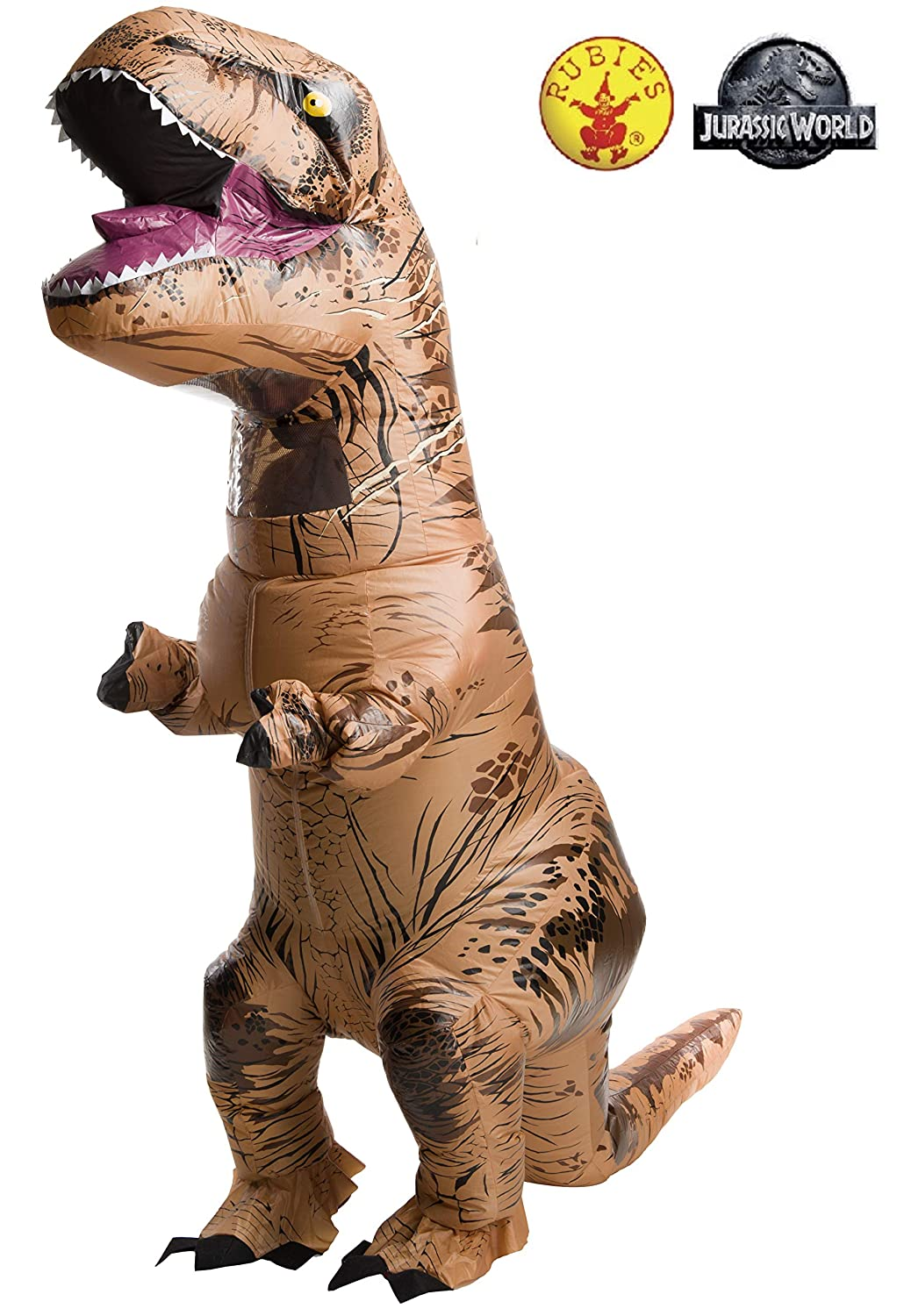 Jurassic World Teen Inflatable T-Rex Fancy Dress Costume Standard: Amazon.es: Juguetes y juegos