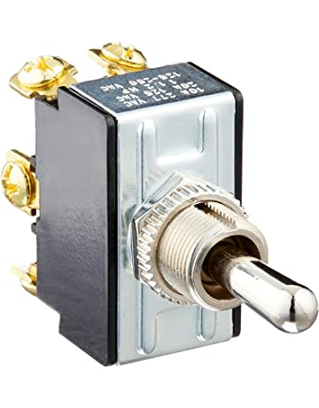 Amazon com: Toggle Switches - Industrial Switches