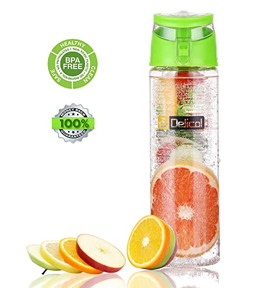 Delicol Infuser Water Bottle 2...