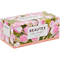 Beautex Box Tissue, 3 ply, 100ct ,(Pack of 5)
