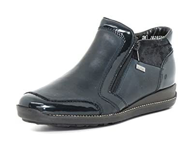 Rieker Damen Sneaker blau N5354 14
