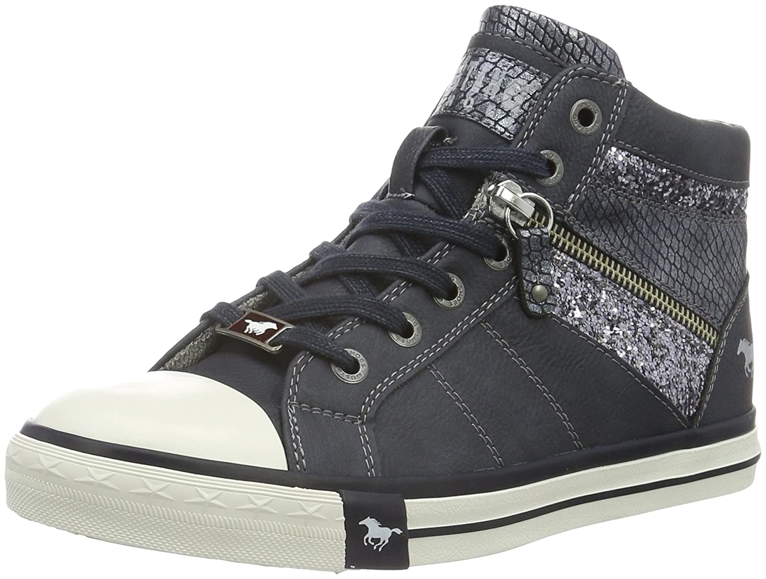 Mustang Damen Navy) 1146-508-820 High-Top Blau (820 Navy) Damen 66edaf