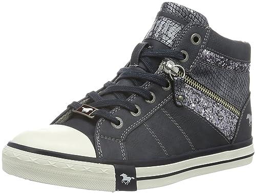 Mustang 1146-508, Zapatillas Altas Para Mujer, Azul (820 Navy), 38 EU: Amazon.es: Zapatos y complementos