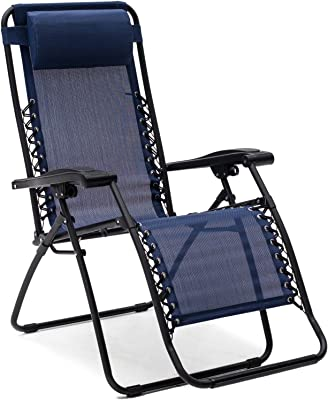 Caravan Canopy Zero Gravity Chair Foldable - Blue