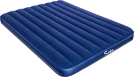 Amazon.com: Sable Camping colchón de aire, colchón hinchable ...