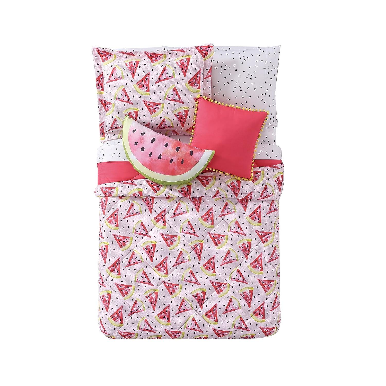 My World LHK-COMFORTERSET Fruity Printed Full/Queen 3-Piece Comforter Set