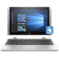 "HP x2 10-p038nf Ultrabook 2-en-1 10"" HD Tactile Argent (Intel Atom, 4 Go de RAM, SSD 64 Go, Intel HD Graphics 400, Windows 10)"