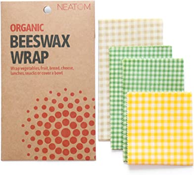 Vendas de cera de abeja orgánicas de Neatom – 4 unidades de ...