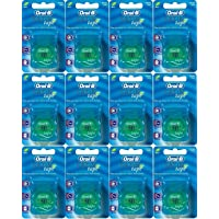 Oral-B Satin Tape Mint (25 meters waxed) x 12 units