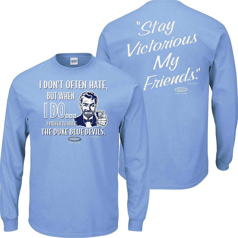 売上実績NO.1 North Carolinaバスケットボールファン。Stay 3X Victorious。私はよくないHate North Carolinaブルー長袖Tシャツ 3X B00T37HYLY B00T37HYLY, でんすけ:0bee60d8 --- a0267596.xsph.ru