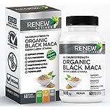 Organic Black MACA Dietary Supplement Pills- Vegan, Non GMO Certified – 1000mg of Gelatinized Peruvian Black Maca Root…
