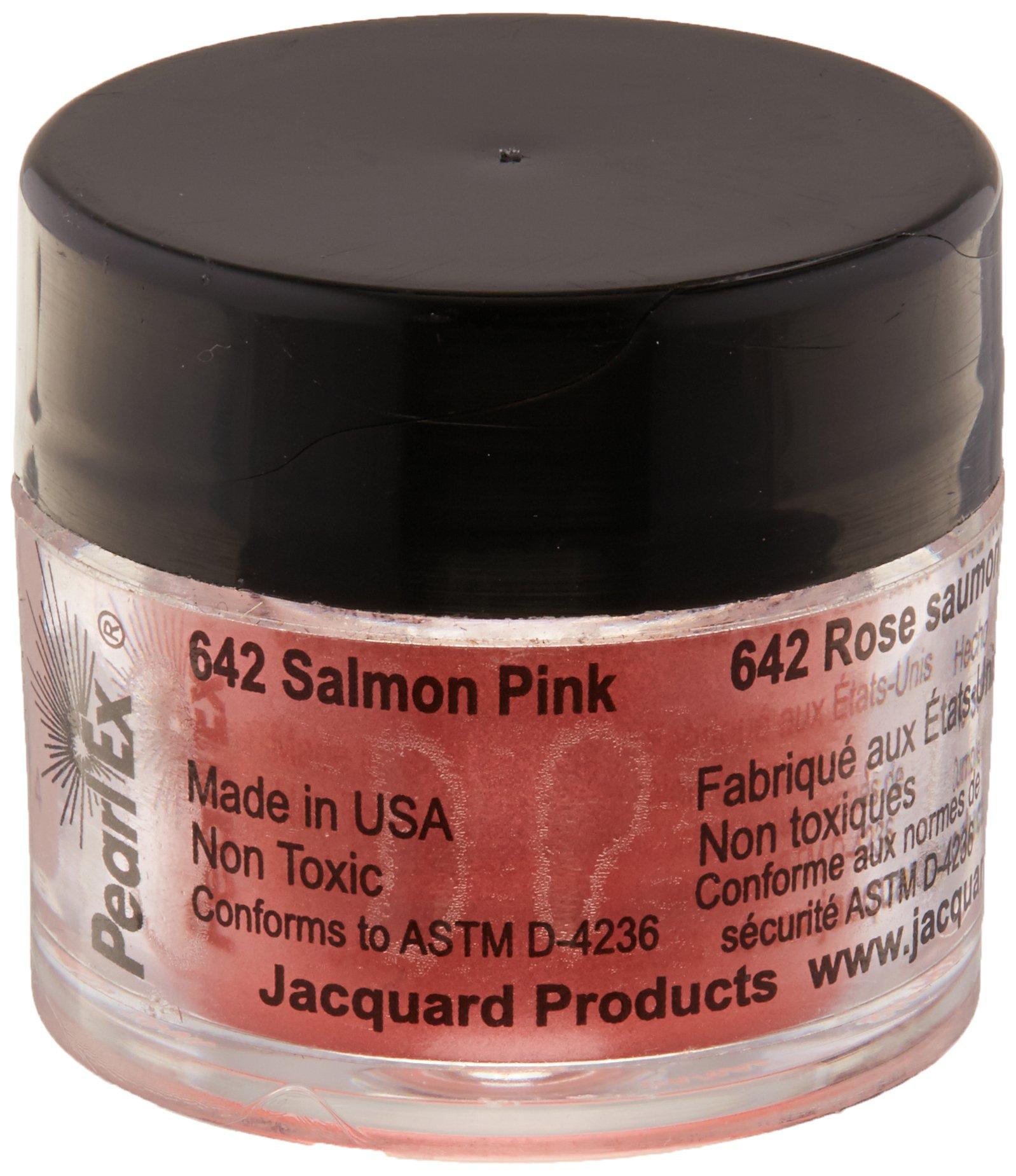 Pigmento Jacquard Pearl Ex 3gr. Rosa salmón