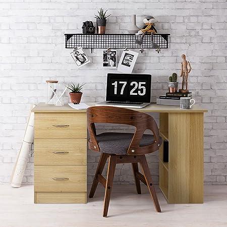 prix abordable livraison gratuite meilleure qualité pour Meuble de bureau - 3 tiroirs et 3 étagères - Laura James