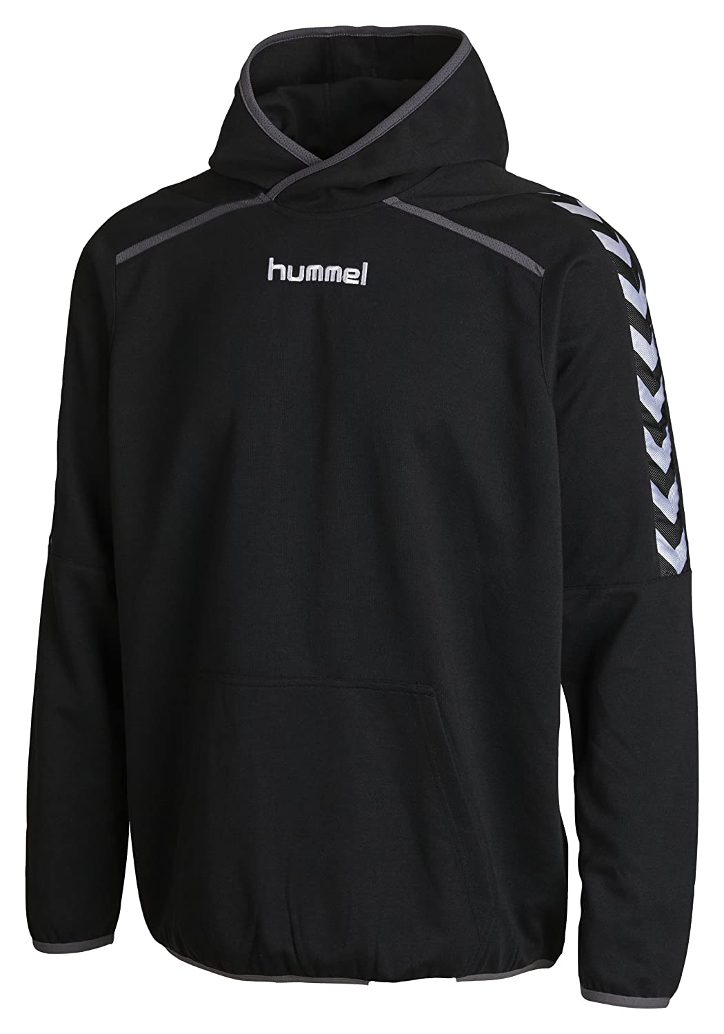 Hummel Kinder Sweatshirt Stay Authentic Poly Hoody Black 6-8(116-128) 36-989-2001