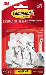 Amazon.com: Command Decorating Clips, White, 40-Clips (17026-40ES ...