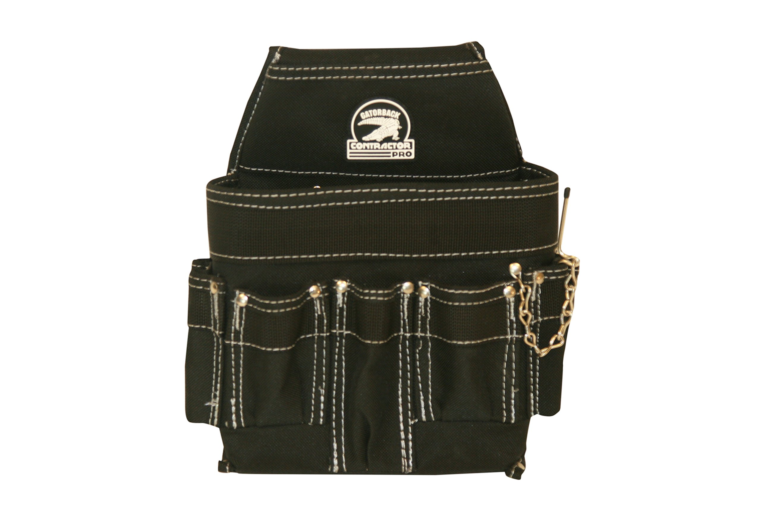 Gatorback Professional Electrician's Tool Belt Combo w/ Padded Comfort Belt (Medium 31-34 Inch Waist). Ventilated Comfort Belt with Heavy Duty Pouches for Electricians, Carpenters, Hvac, Drywaller. by Contractor Pro (Image #4)