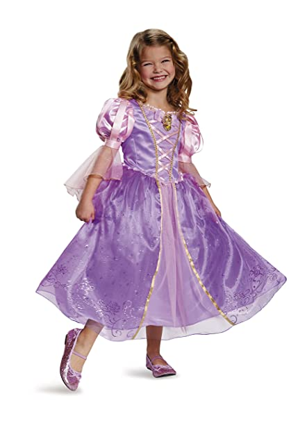 Disguise Rapunzel Prestige Disney Princess Tangled Costume, Medium ...