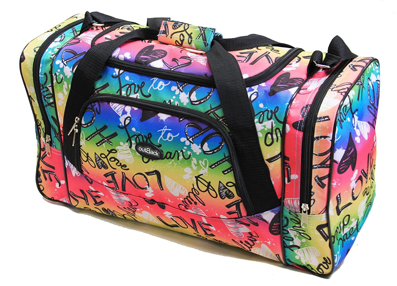 eñoras Mens bolsa de deporte bolsa de viaje equipaje de mano gimnasio