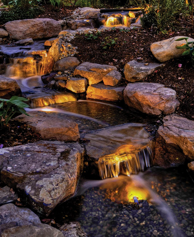 Amazon.com : Atlantic Water Gardens Submersible Warm White LED Light ...