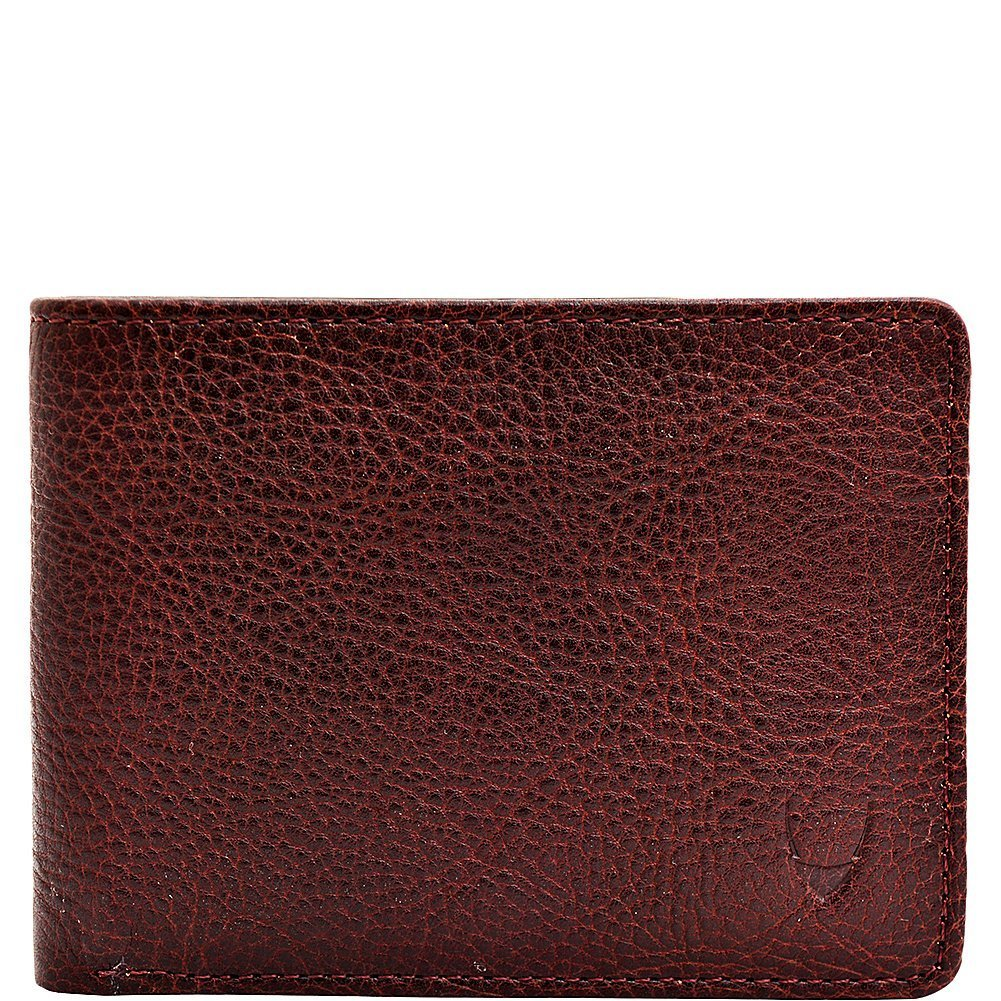 HIDESIGN Giles Classic Compact Thin Vegetable Tanned Leather Wallet, Brown