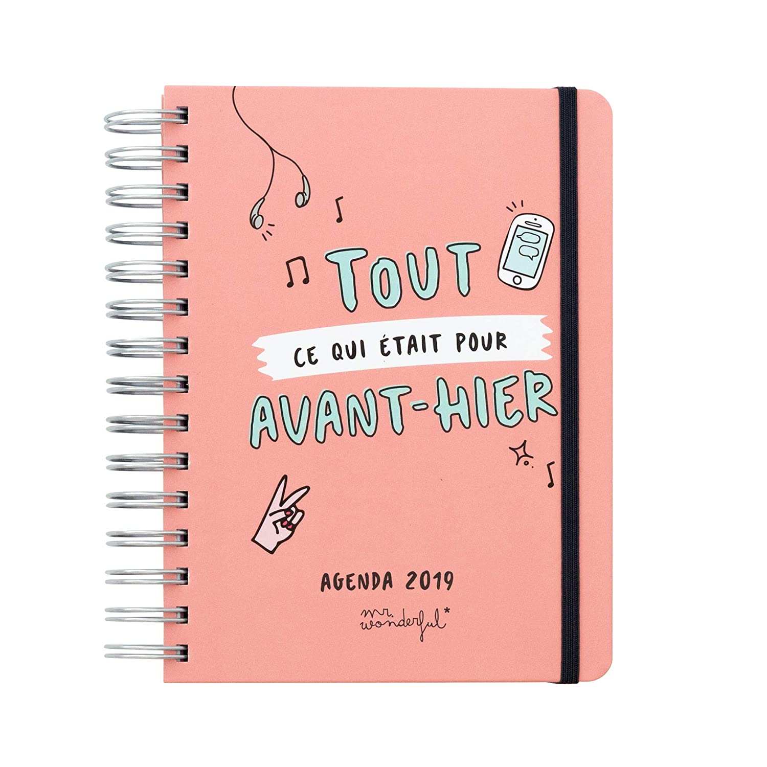 Agenda mr. Wonderful Sketch (2019: Amazon.es: Oficina y ...