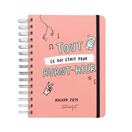 Agenda mr. Wonderful Sketch (2019: Amazon.es: Oficina y papelería