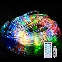Luces LED Cadena, Impermeable IPX65, 4 modos