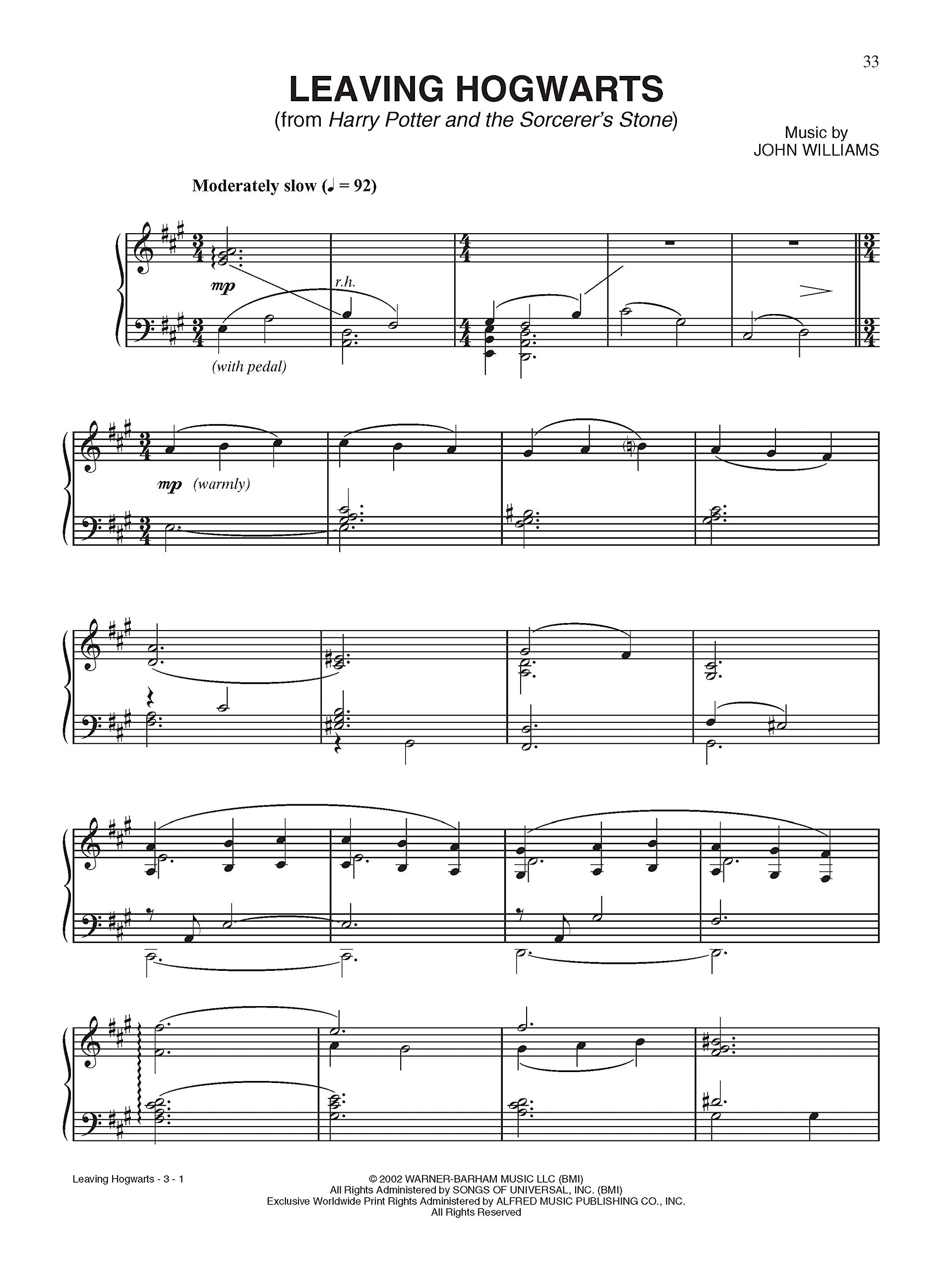 HARRY POTTER -- SHEET MUSIC FR Harry Potter Sheet Mucic: Amazon.es ...