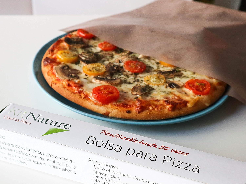 Para X PizzaTamaño Nature Bolsa Cm Pack Kit De 36 34 Reutilizable 1 tsQdrxCh