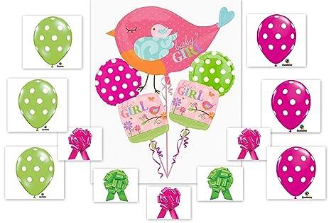 Amazoncom Tweet Baby Girl 16pc Balloon Baby Shower Birthday Party