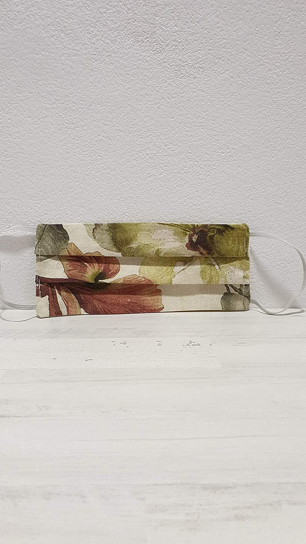 PACK 2 MASCARILLAS DOBLE TELA ALGODÓN JULIETA: Amazon.es: Handmade