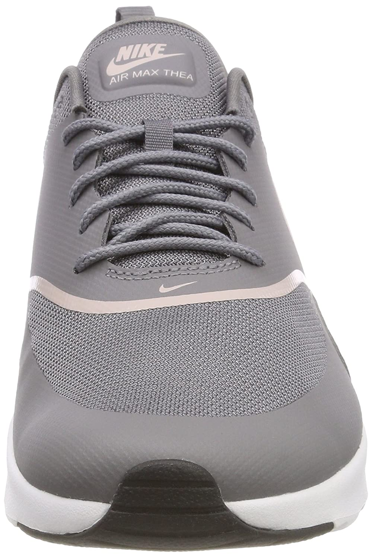 online store b9cfb a746d Amazon.com   Nike Women s Air Max Thea Gunsmoke Particle Rose Black Running  Shoe 7.5 Women US   Road Running