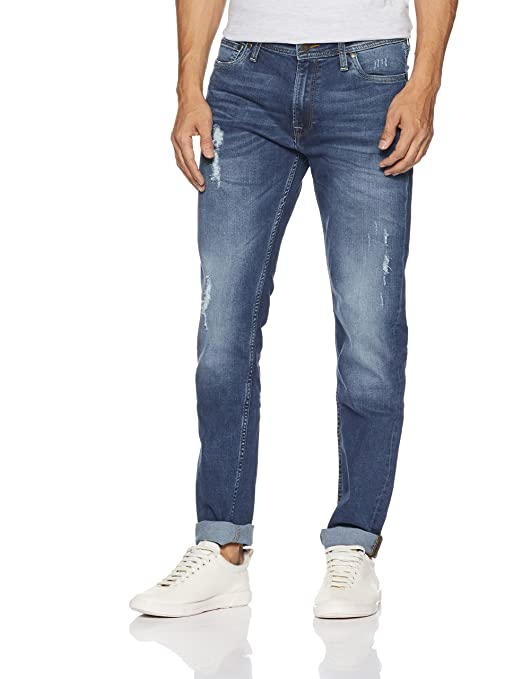 Jack & Jones Men's Ben Skinny fit Jeans Men's Jeans at amazon