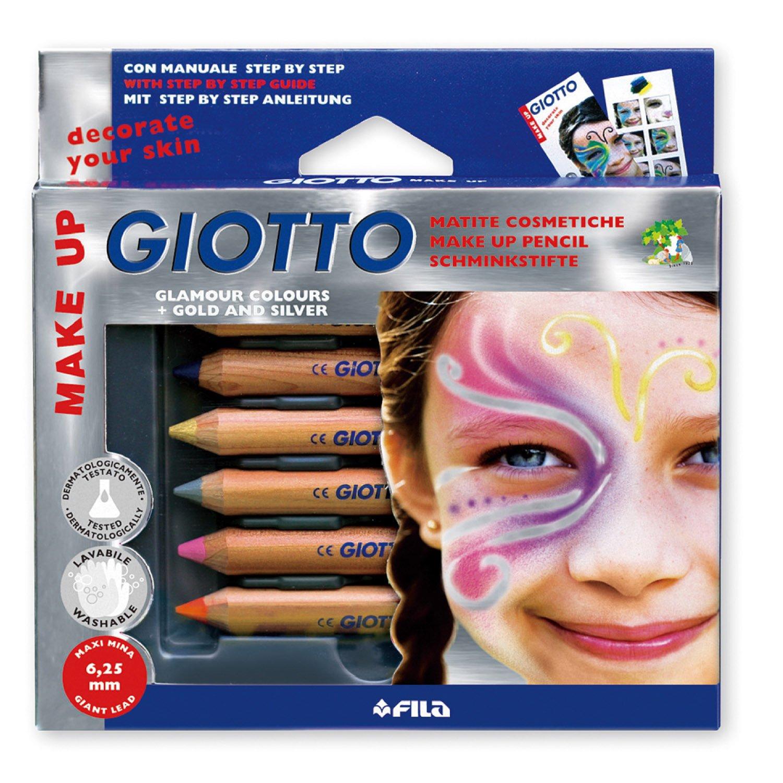 Giotto 470800 - Make Up Matite Cosmetiche Colori Glamour FILA Italy 4708 00
