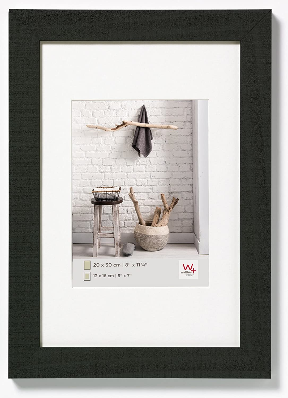 walther design HO070B Home Holzrahmen, 50 x 70 cm, schwarz: Amazon ...
