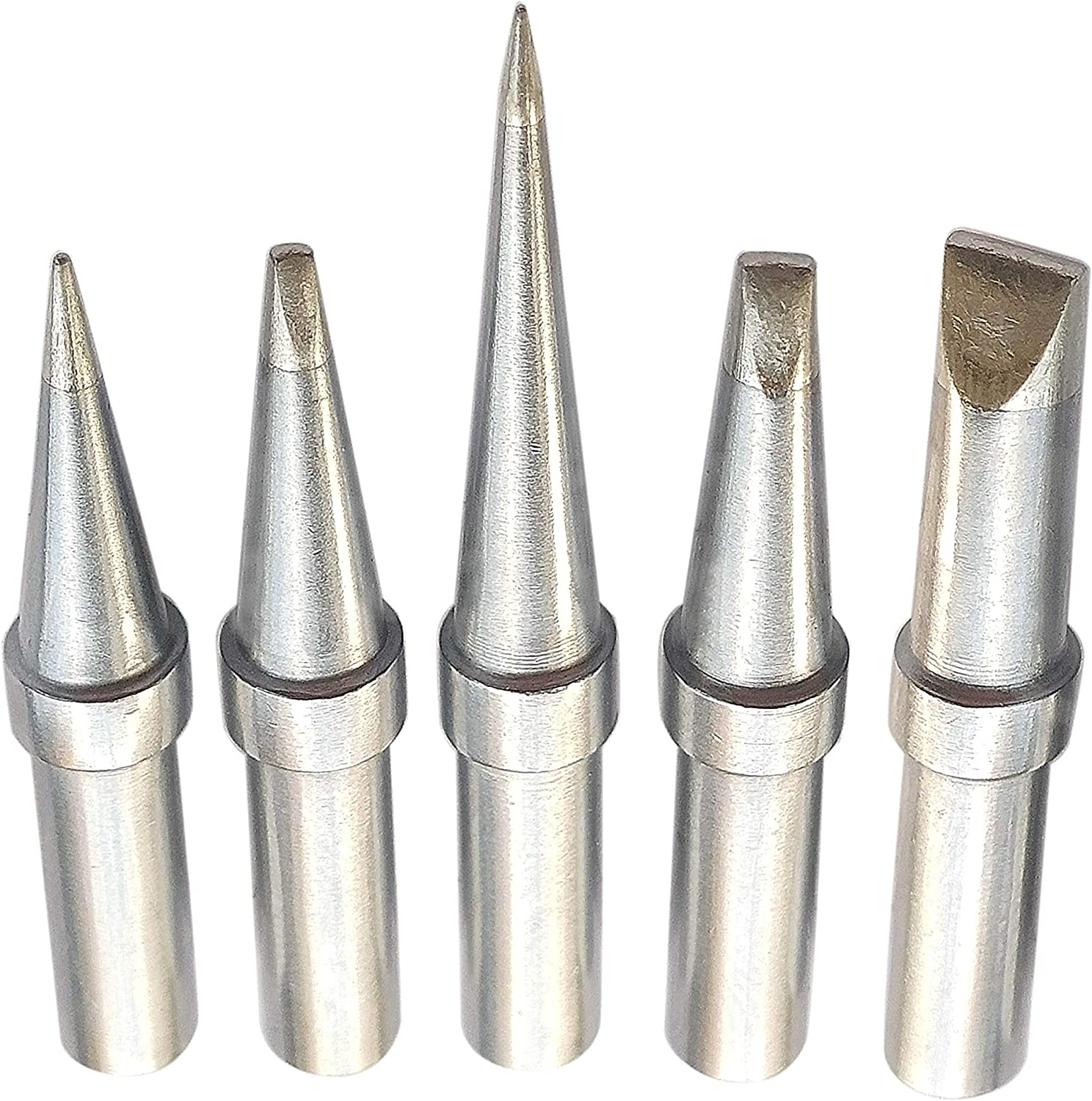 Replacement Soldering Tips For Weller WES51 WESD51 WE1010NA PES51 5pcs Tip Set