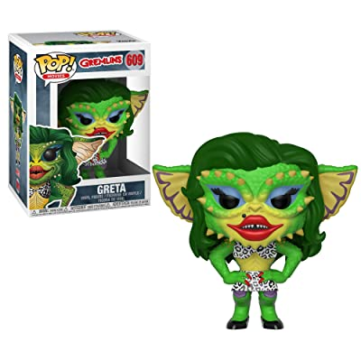 Funko Pop Horror: Gremlins 2 - Drag Gremlin Collectible Figure, Multicolor: Toys & Games