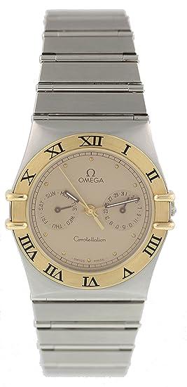Omega Reloj De Cuarzo Suizo De Constelación 396.1080.1 para Hombres: Omega: Amazon.es: Relojes