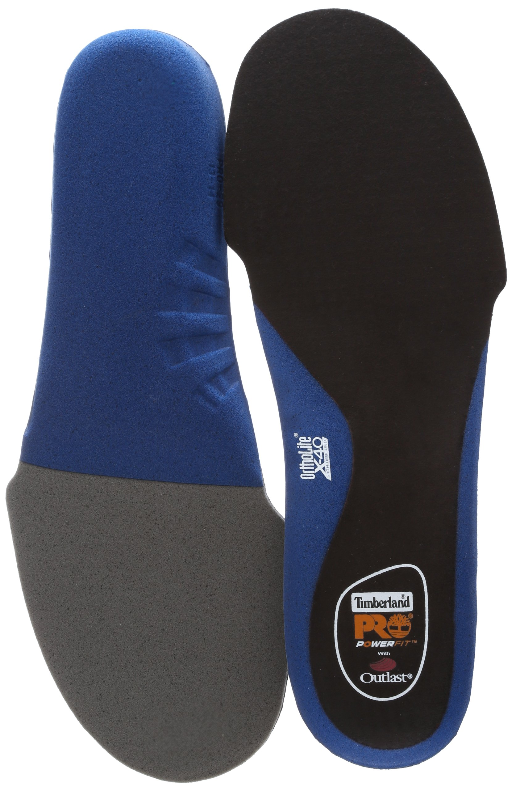 Timberland PRO Men's High Rebound Cushion Replacement Insole,Blue,X-Large/12-13 M US