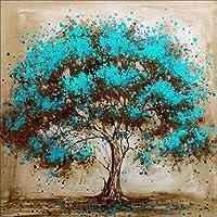 5D Diamond Painting Kits, Full Drill DIY Rhinestone Embroidery Cross Stitch Arts Craft for Home Wall Decor - Tree (12 x…