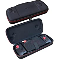 ButterFox Grip Carry Case for Hori Nintendo Switch Split Pad Pro Controller and ButterFox Dockable Grip- Red/Black