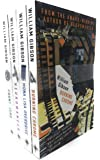 William Gibson Neuromancer Collection 4 Books Bundle With Gift Journal (Neuromancer, Count Zero, Mona Lisa Overdrive…
