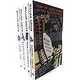 William Gibson Neuromancer Collection 4 Books Bundle (Neuromancer, Count Zero, Mona Lisa Overdrive, Burning Chrome)