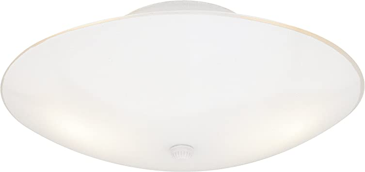 Westinghouse Lighting 66242 Westinghouse 6624200 Two Light Semi Flush Mount Interior Ceiling Fixture Finish With White Glass Semi Flush Mount Ceiling Light Fixtures Amazon Com
