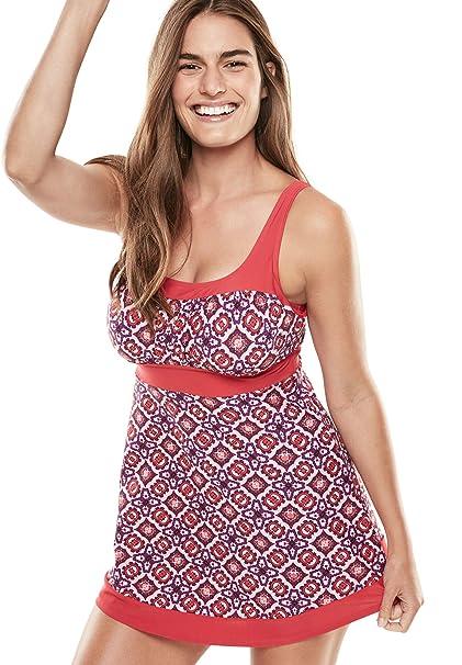 Amazon.com: Vestido de natación para campesino de talla ...