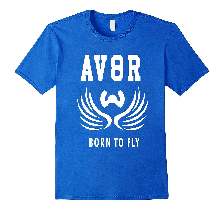 acfc56c6 VINTAGE AV8R T SHIRT AVIATION AIRPLANE WHEEL DESIGN – Hntee.com