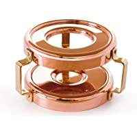 Mauviel Made In France M'heritage 150b Heater with Candle for Small Sauce Pan with Bronze Handle