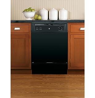amazon com ge gsc3500dww 24 white portable full console dishwasher