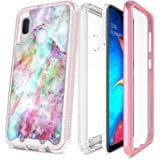 NageBee Galaxy A10E Case, Full-Body Protective Rugged Bumper with Built-in Screen Protector, Ultra Thin Clear Shockproof Impact Resist Extreme Durable Cover Case for Samsung Galaxy A10E -Fantasy